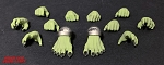 MYTHIC LEGIONS: ORC-COLORED BEAST HANDS & FEET SET PRE-ORDER