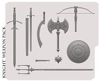KNIGHT WEAPONS PACK PRE-ORDER