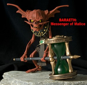BARAETH - THE RED TIME KEEPER