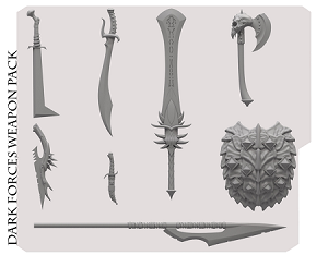 DARK FORCES WEAPONS PACK PRE-ORDER